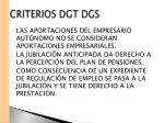 criterios dgt dgs4