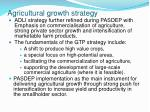agricultural growth strategy