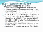 large scale commercial farm