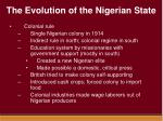 the evolution of the nigerian state3