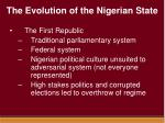 the evolution of the nigerian state5