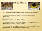 food meals