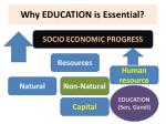 why education is essential
