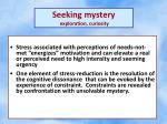 seeking mystery exploration curiosity1