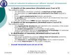 i criteri ed i sottocriteri di valutazione per i differenti strumenti di finanziamento4