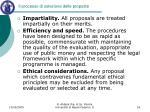 il processo di selezione delle proposte1
