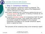 il processo di selezione delle proposte5