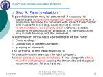 il processo di selezione delle proposte6