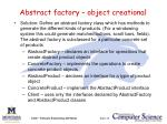 abstract factory object creational1
