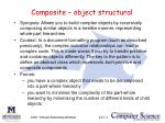 composite object structural