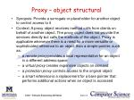 proxy object structural