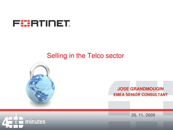 selling in the telco sector n.