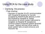 using rca for the case study2