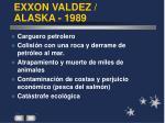 exxon valdez alaska 1989