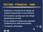 feyzin francia 1996
