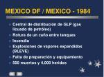 mexico df mexico 1984