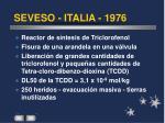 seveso italia 1976