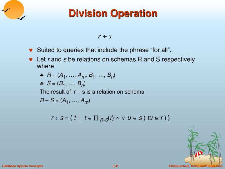 Division Operation