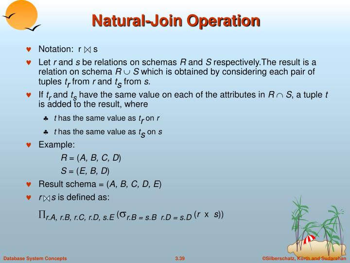 Natural-Join Operation