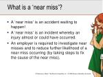what is a near miss