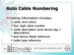 auto cable numbering1