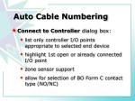 auto cable numbering2