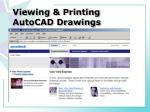 viewing printing autocad drawings