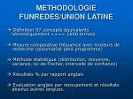 methodologie funredes union latine
