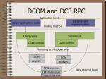 dcom and dce rpc