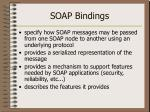 soap bindings