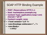 soap http binding example