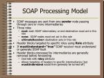 soap processing model