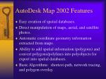 autodesk map 2002 features