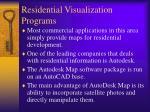 residential visualization programs