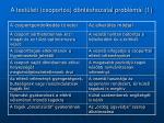 a test leti csoportos d nt shozatal probl m i 1