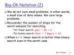 big oh notation 2