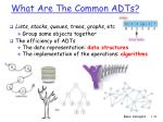 what are the common adts