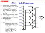 a d flash conversion