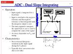 adc dual slope integrating