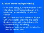9 2 scipio and the future glory of italy