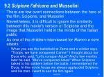 9 2 scipione l africano and mussolini
