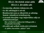 iii 4 1 bev telek ut ni ad k iii 4 1 1 j ved ki ad