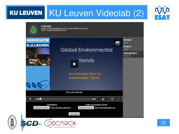 KU Leuven Videolab (2)