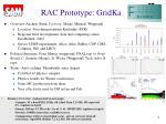 rac prototype gridka