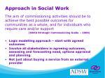 approach in social work