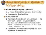 caribbean immigrants in canada 3 multiple voices