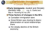 caribbean immigrants in canada background 1