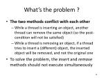 what s the problem1
