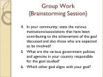 group work brainstorming session1