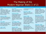 the making of the modern nigerian state 1 of 2